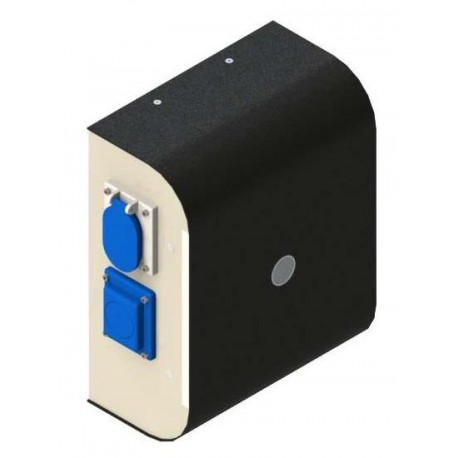 WallBox Mono 16A-25A Prise T3 + E/F